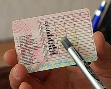 эстонские водительские права