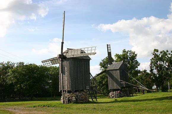 мельницы сааремаа