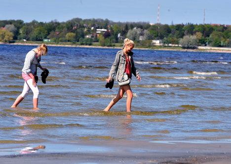 пляжи таллинна пирита