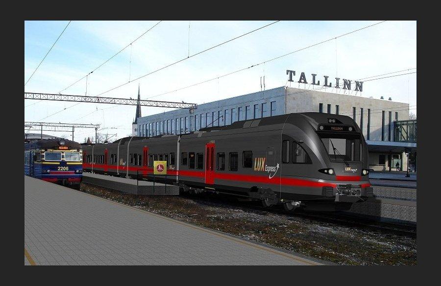 скоростной поезд Таллинн - Санкт-Петербург