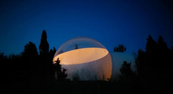 отель в виде шара Эстония Таллин