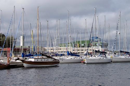 Таллинский яхтклуб в Пирита