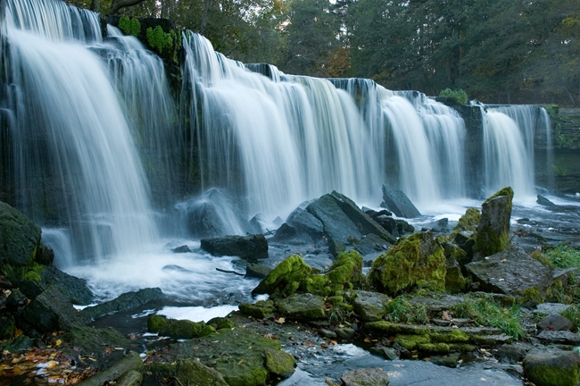 Водопад Кейла-Йоа Эстония