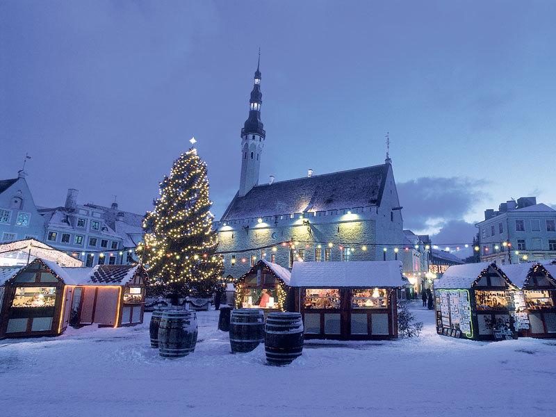католическое рождество +в таллине